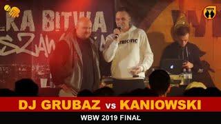 DJ Grubaz  Kaniowski  WBW 2019 Finał (wywiad)