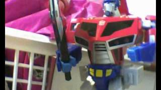 (FRENCH) Review Optimus Prime Supreme Animated Partie 2