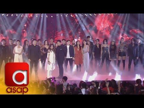"""ASAP: The cast of """"La Luna Sangre"""" on ASAP stage"""