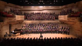 Gondwana National Choral School 2015