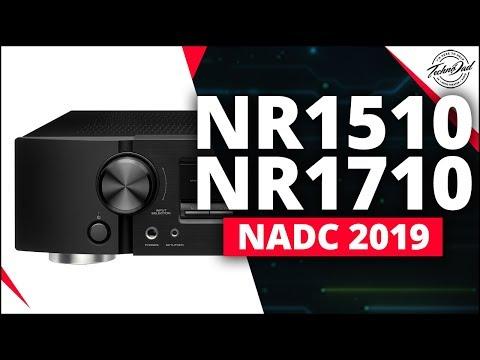 New Marantz NR1510 & NR1710 Slimline A/V Receivers | NADC 2019 New Orleans