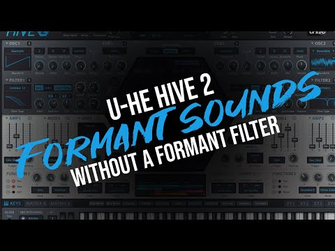 Creating Formant-like Sounds