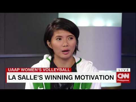 Lady Spikers on UAAP championship, winning motivation, team's future