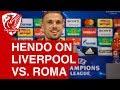 Jordan Henderson Pre-Match Press Conference   Liverpool vs. Roma (Champions League)