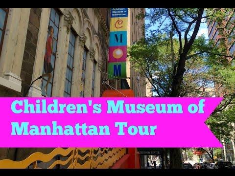 Visit NYC -- Children's Museum of Manhattan Visit #kids #NYC