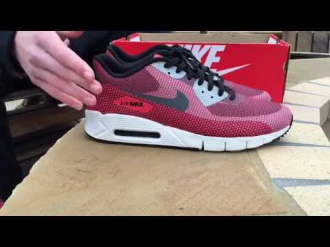 save off 33000 3485f Nike AirMax 90 Jacquard Review + On-Foot