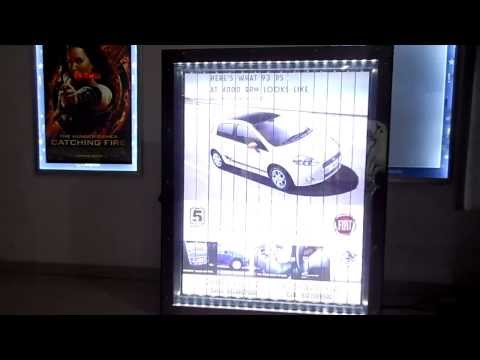 Fiat MIDs Branding at Cinepolis Cinema, in Ahmedabad by SUBHADRA Advertising co.