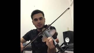 Ben sana yandım Keman Solo (cover) solo violin