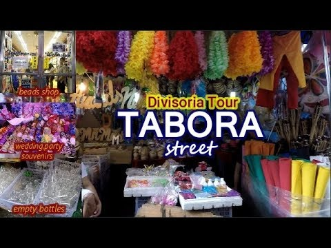 TABORA street -Divisoria Tour - Bargain District of Manila,P