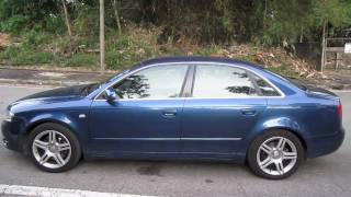 2005 Audi A4 2.0T quattro Start-Up, Full Vehicle Tour, and Short Drive