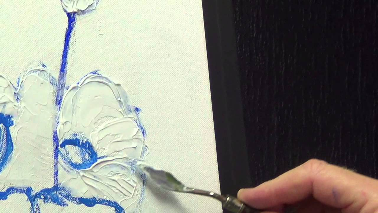 Using Modelling Paste In Oil Painting Youtube