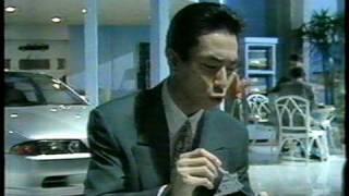1989末のTV録画から見つけました。日産、熱血業界宣言、NISSAN。柳葉敏...