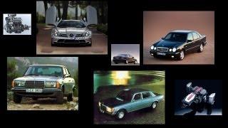 Mercedes-benz engine sounds звуки моторов Мерседесов W211 W220 W210 W201 W123 W116 W111 W186 C199