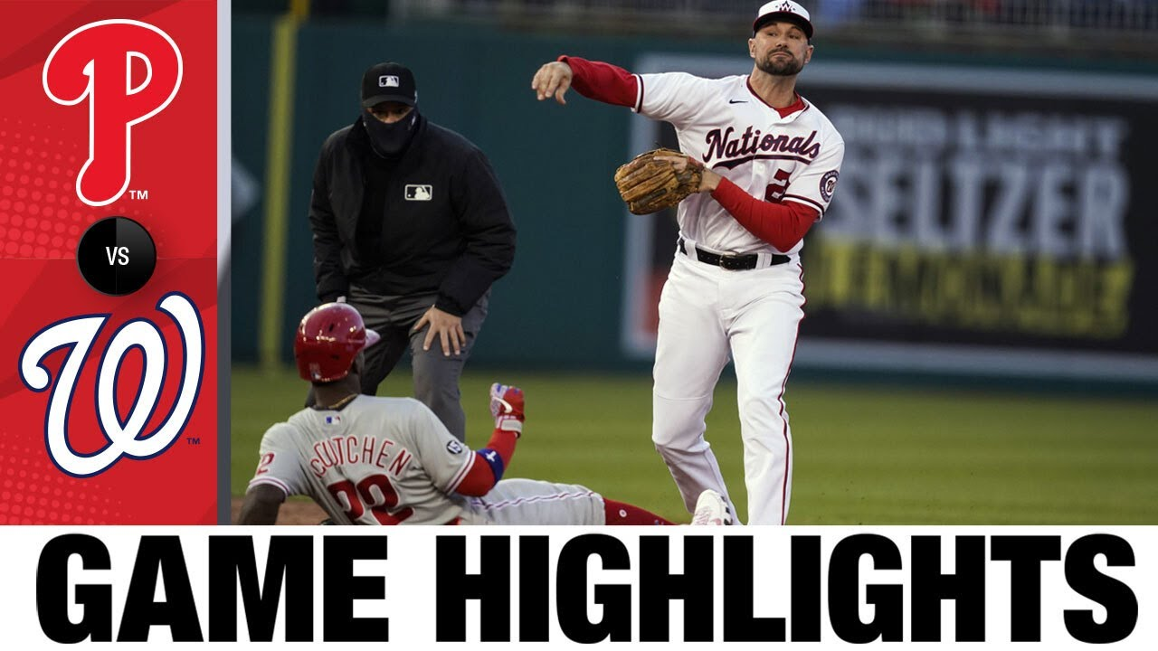 Download Phillies vs. Nationals Game Highlights (5/12/21) | MLB Highlights