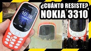 Cuánto resiste el NOKIA 3310 - Experimentos con Mike
