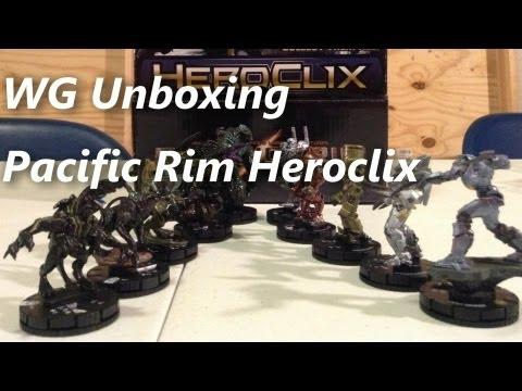 WG Unboxing: Pacific Rim Heroclix