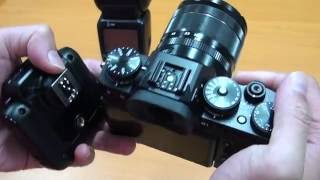 fujifilm x t2 with cactus v6ii hss setup for off camera flash photography