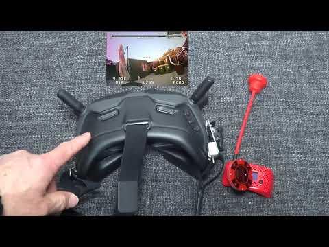 Фото DJI FPV - Goggles with analog - better than Fatshark HDO