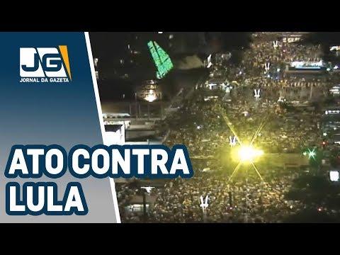 Na av. Paulista, ato contra Lula
