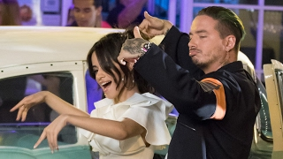 """Video Camila Cabello TEASES """"Hey Mama"""" Collab With Pitbull & J.Balvin In New Music Video BTS download MP3, 3GP, MP4, WEBM, AVI, FLV Agustus 2017"""