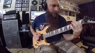 Six Feet Under obsidian guitar play through