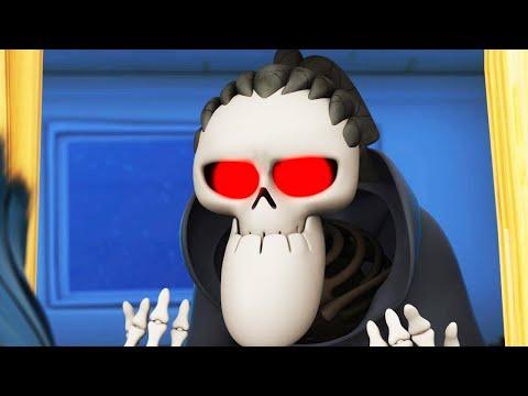 Spookiz   Insegnante di scheletro ottiene i capelli   Cartoni animati per bambini   WildBrain