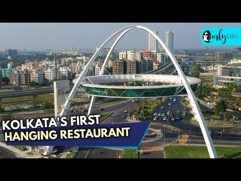 Kolkata Gets Its First Hanging Restaurant Biswa Bangla Gate | Curly Tales