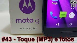 Moto G 3º ger - Usando MP3 para toque padrao e movendo fotos - Português