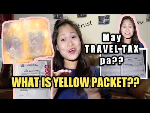Visa and Yellow Packet on Hand l Travel Tax l Tips and Reminder l by OTOG TV