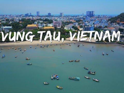 vung tau Vietnam (drone footage)
