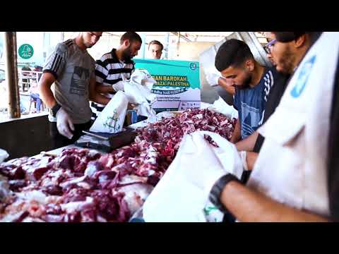 Your Qurban for Gaza project Funded by ADARA