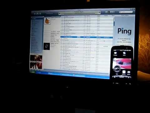 How to put iTunes music on a HTC