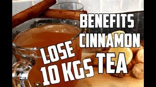 How To Lose Belly Fat Stubborn - Best Fat Cutter Drink To Lose Weight Fast -10 Kgs | Cinnamon Tea !!