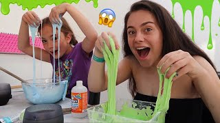 8 YEAR OLD TEACHES ME HOW TO MAKE SLIME 🤪