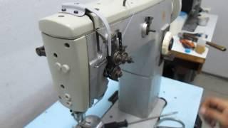 видео 12. Швейные машины беспосадочного шва