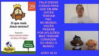 Catecismo para Crianças Pequenas - Pergunta 29