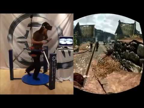Virtual Reality Gaming  gta The Elder Scrolls V: Skyrim.