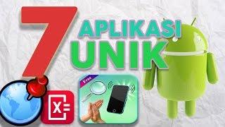 7 Aplikasi Unik Android !!