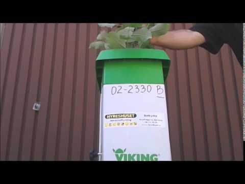 Садовый измельчитель Viking GE 35.2 L