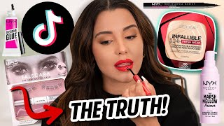 VIRAL MAKEUP PRODUCTS TIKTOK MADE ME BUY You Wont Believe This