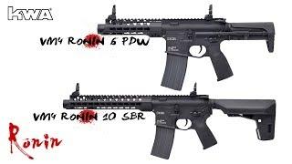 KWA AEG 2.5 VM4 RONIN 6 PDW & 10 SBR -Fully Adjustable FPS