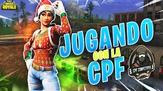 BUYING THE SKIN NAVIDEIA TO THE CPF - LIVE FORTNITE SEASON 7 - CAFPlay