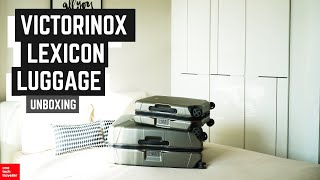HUGE Victorinox Lexicon Luggage Collection Unboxing! | 1TT