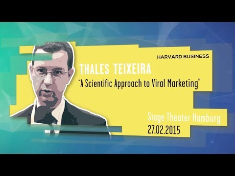 Prof. Thales Teixeira, Harvard Business School
