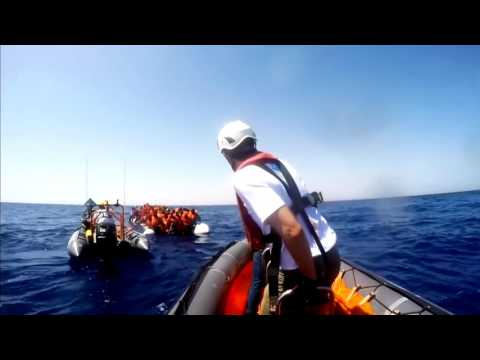 SearchWing - Drones to find refugees in Mediterranean Sea (33c3) - english translation