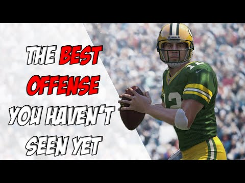 The Easiest Offense to Run in Madden 17 (most effective too!)