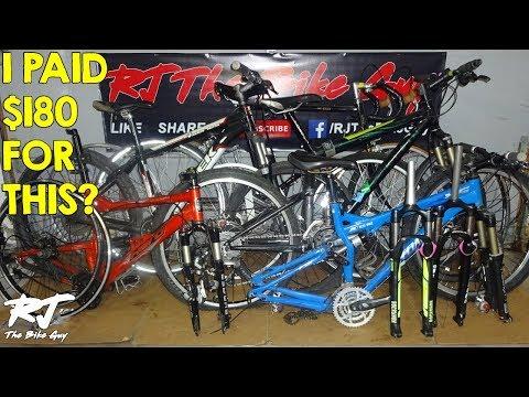 My Bargain Bike & Parts Finds At Bike Co-Op Garage Sale!!! Amazing Deals!!!!