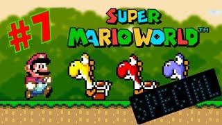 Outrageous tiene que dar problemas! / Super Mario World #7