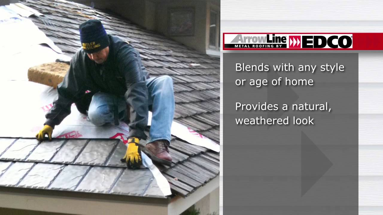 Cedar Shake Replacement With Metal Shake Roofing By EDCO Products