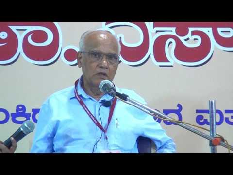 Dr SL Bhyrappa at Bagalkot - 2